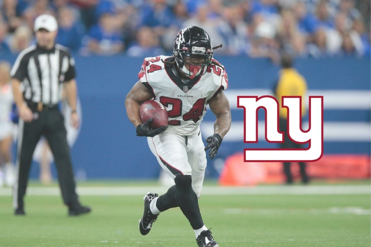 Running Back Devonta Freeman wechselt zu den New York Giants