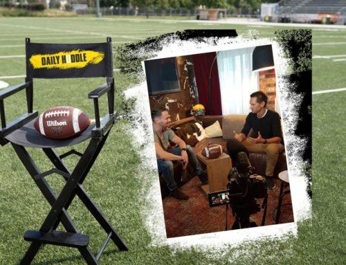 NFL Talk mit Puls4 Moderator Phillip Hajszan