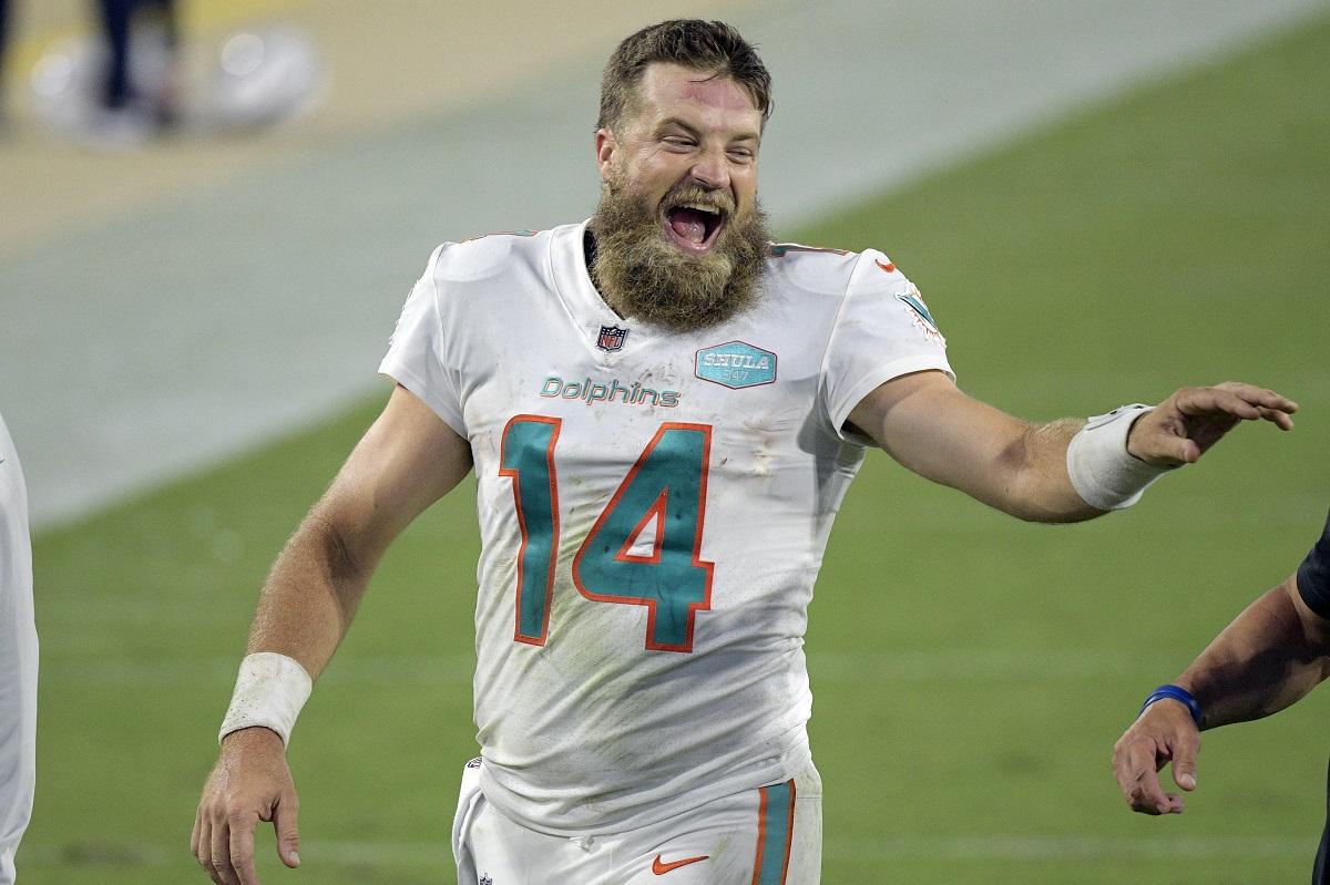 Ryan Fitzpatrick führt die Miami Dolphins zum Sieg
