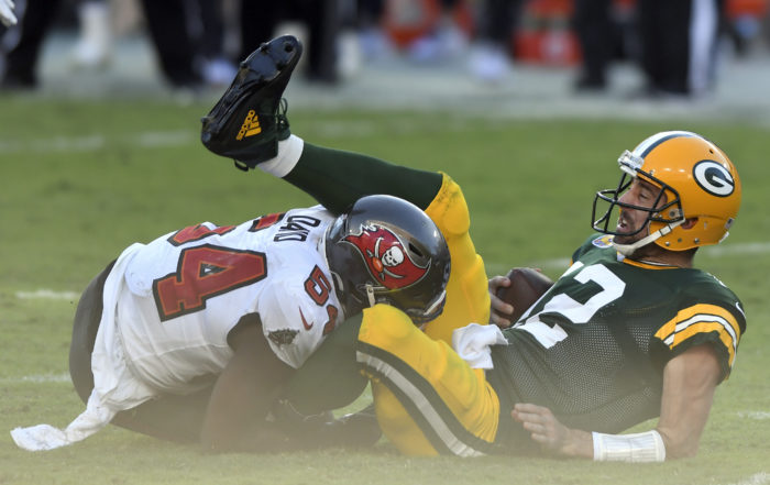 Aaron Rodgers und seine Packers verlieren erstmals in der Saisons 2020/21