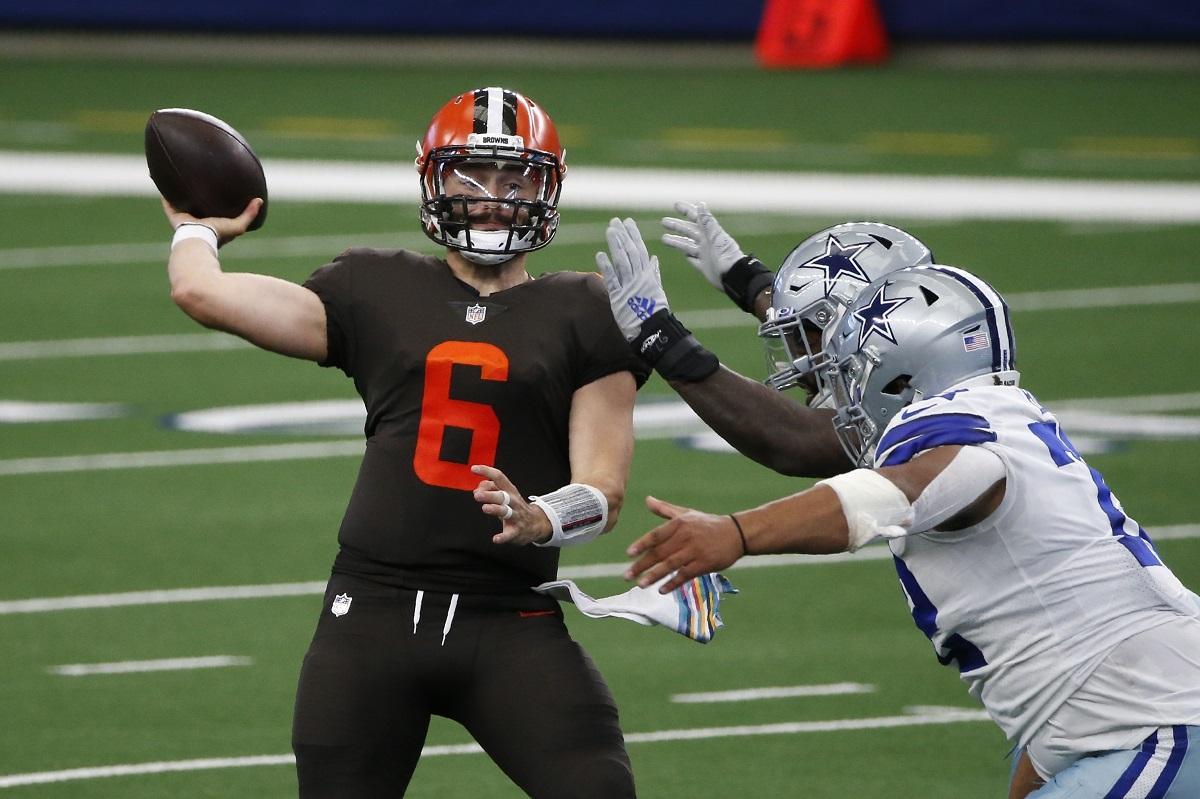 Baker Mayfield führt die Browns zum Sieg gegen die Cowboys
