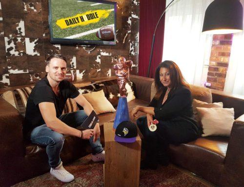Football-Talk mit Kiki Klepsch (Dacia Vikings)