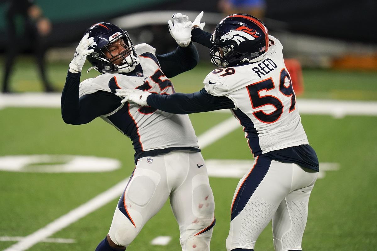 Denver Broncos gewinnen gegen die New York Jets