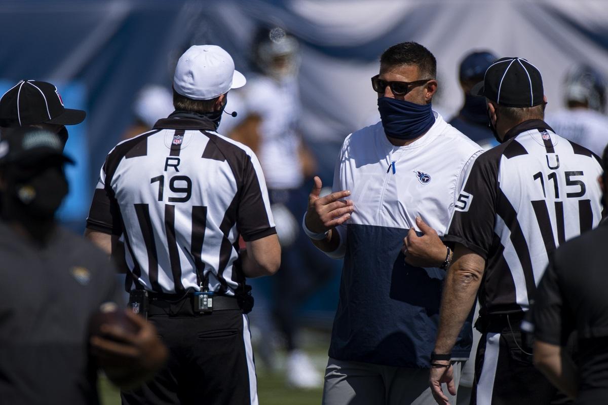 Titans Game geben die Bills verschoben