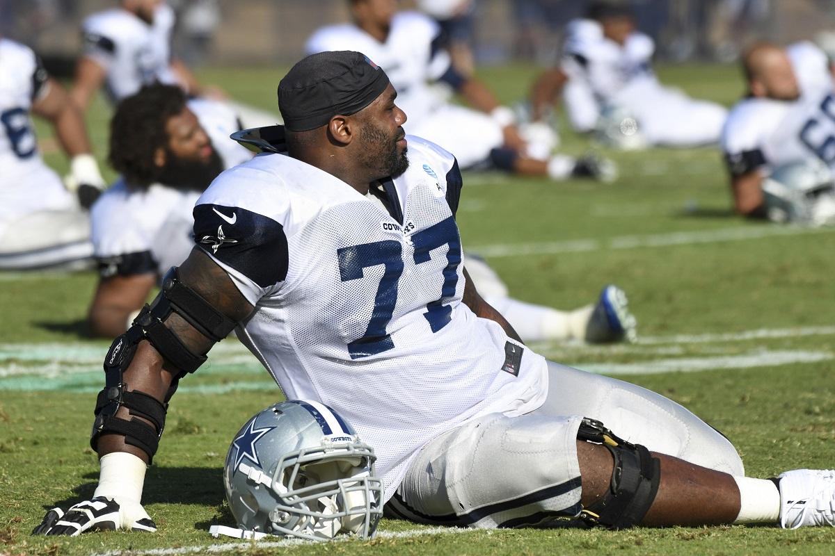 Tyron Smith (LT) der Dallas Cowboys fällt für die Saison aus