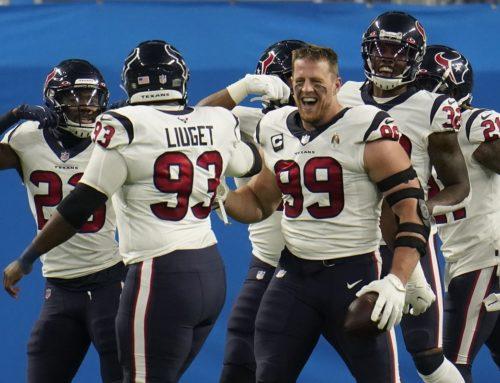 Texans gewinnen High Score Game gegen Lions