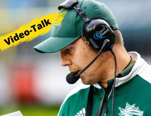 Football-Talk mit Dragons HC Stefan Pokorny