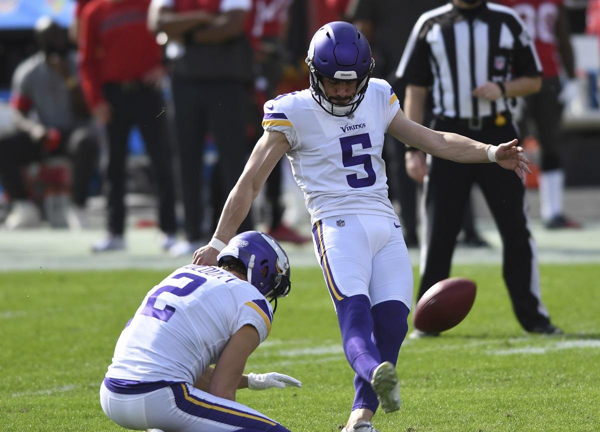 Vikings Kicker wird zum tragischen Helden