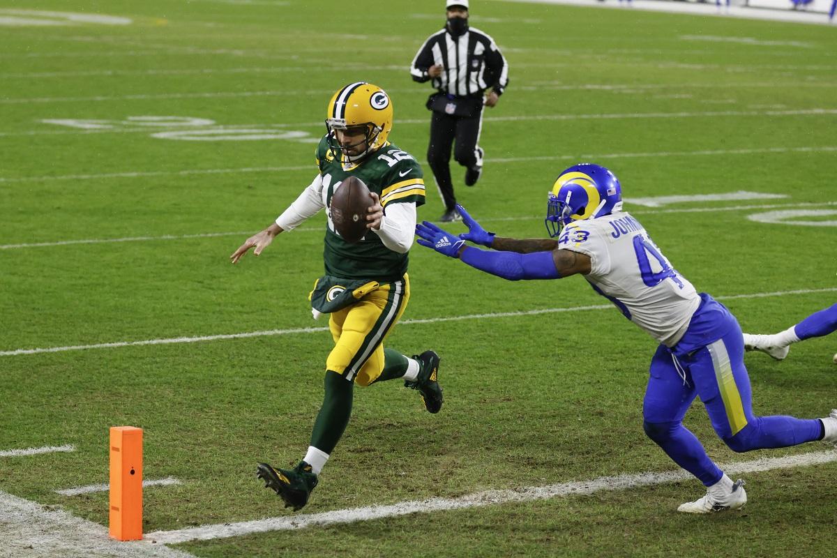 Packers bezwingen die Rams