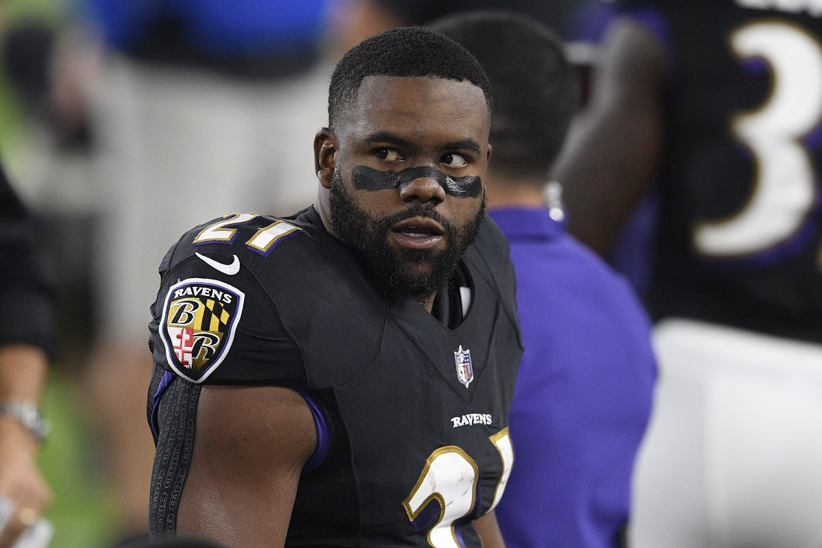 Mark Ingram entlassen