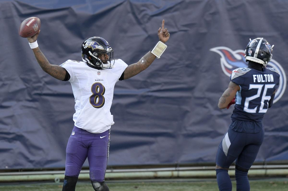 Ravens besiegen Titans im Playoff